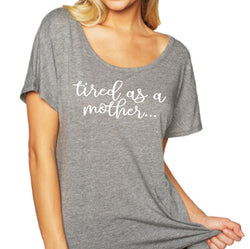 Tired Mother Lady T (+colors) $12.50 ea