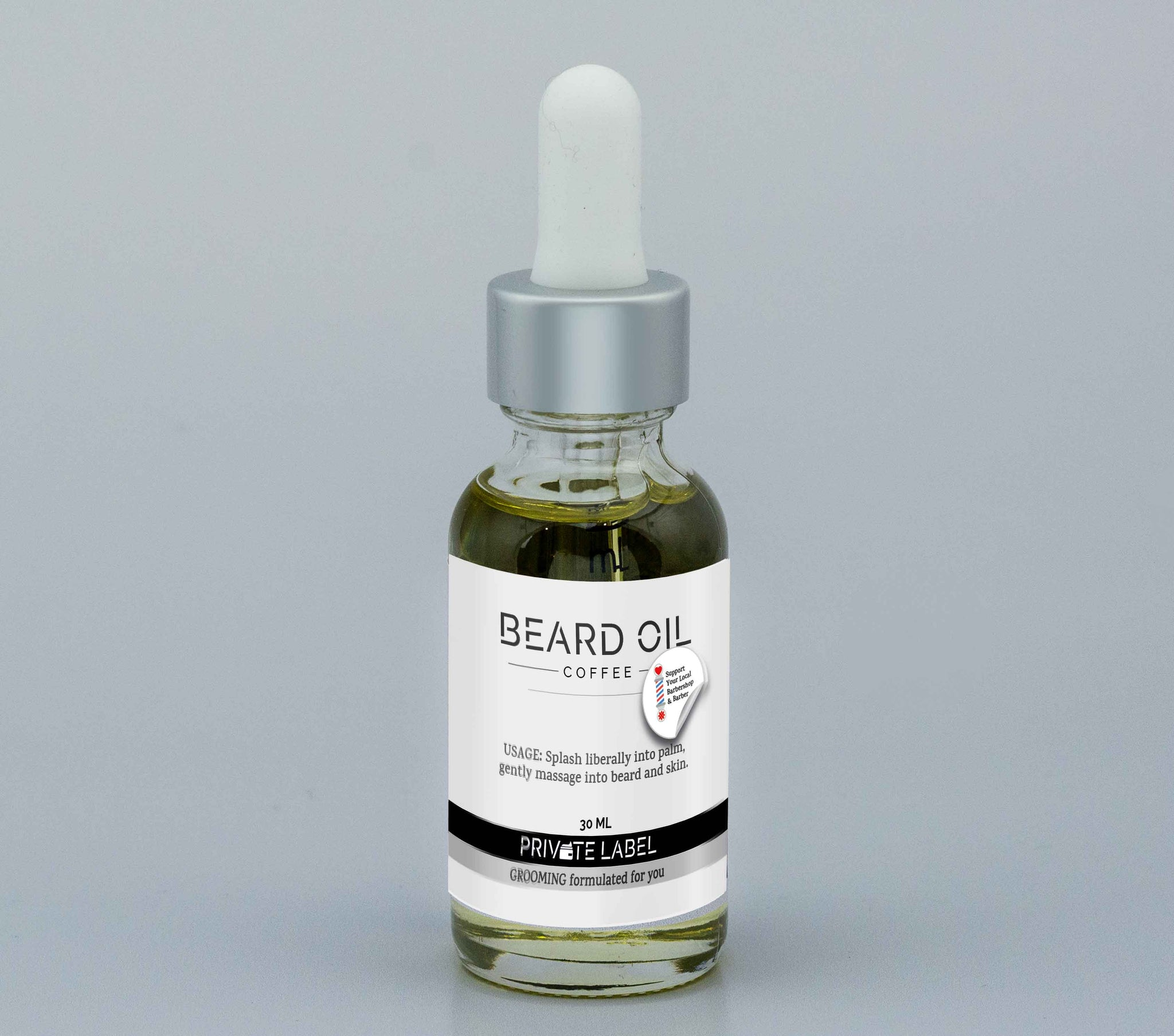 Coffee BEARD OIL & SHAVE OIL - USA - Support Your Local Barbershop & Barber