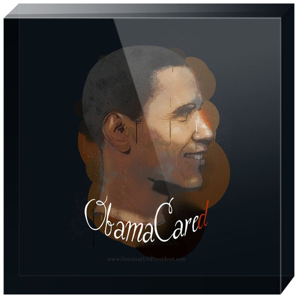 ObamaCared Acrylic Block