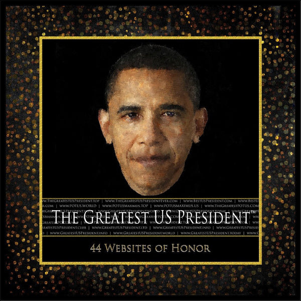 Greatest US President 44 Sites Poster