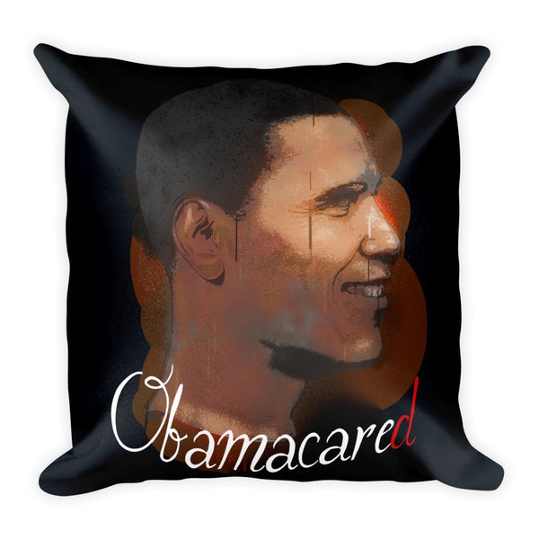 Obamacared Square Pillow