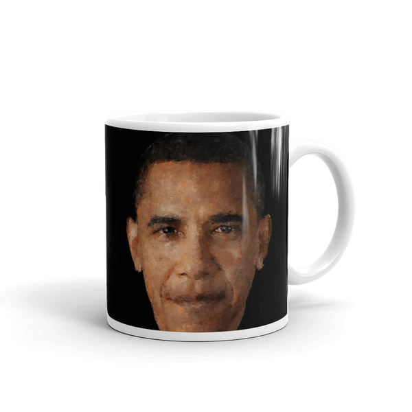 Obama Portrait Love and Loyalty Forever Mug