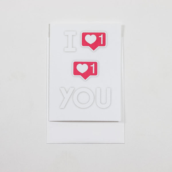 I Like Like You Greeting Card