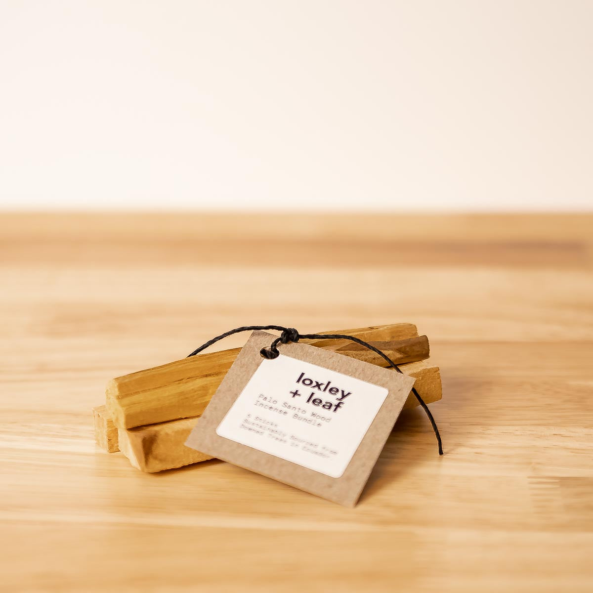 Palo Santo Incense Sticks Incense- Loxley and Leaf