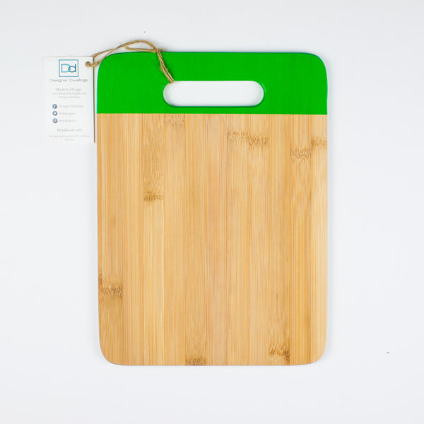 Designer Dwellings Green Bamboo Cutting Board Cutting Board- Loxley and Leaf