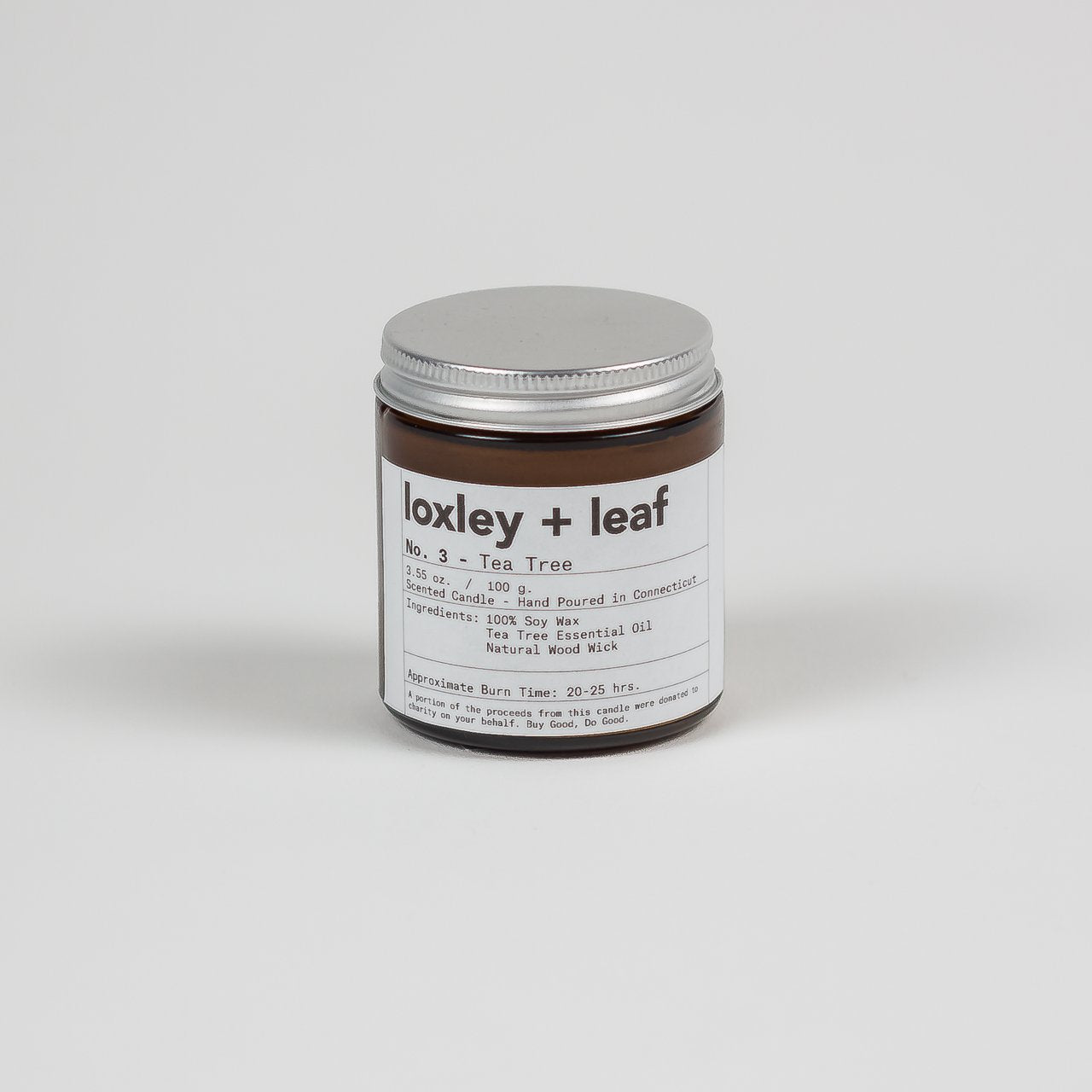 Frankincense Bergamot Essential Oil Candle - Loxley and Leaf