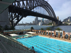 Sydney Olympic pool Milsons Point