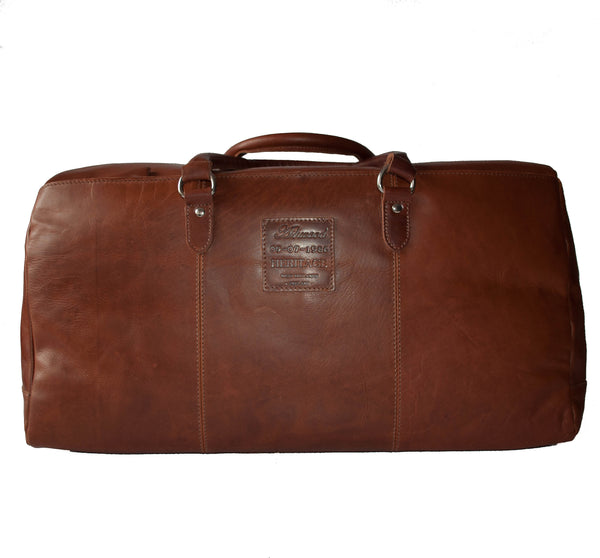 Holdall, Ashwood Leather Travel Holdall | Tan - Voyager Leather