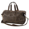 Holdall, Rowallan Distressed Leather Holdall | Brown - Voyager Leather