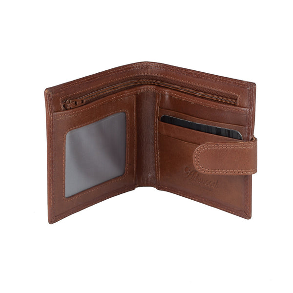Wallet, Men's Leather Wallet | Tan - Voyager Leather
