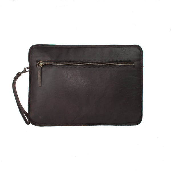 Laptop | Tablet Sleeve, Ashwood Shoreditch Leather Laptop Sleeve | Brown - Voyager Leather