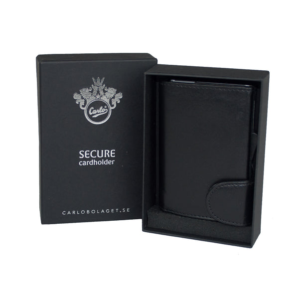 Wallet, RFID Safe Card Holder - Voyager Leather