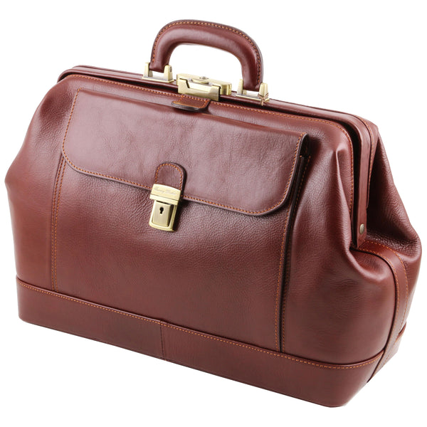 Gladstone, Gladstone Bag | Tuscany Leather Leonardo - Voyager Leather
