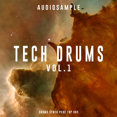 FREE TECH HOUSE SAMPLES - Tech Drums Volume 1
