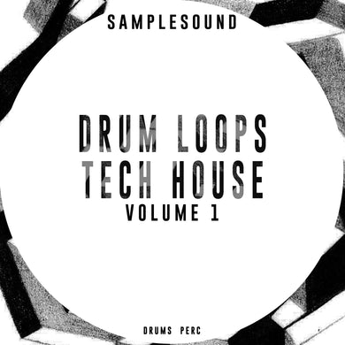 SALE - Drum Loops Tech House Volume 1