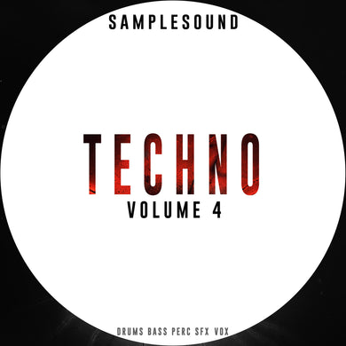 FREE TECHNO SAMPLES - Techno Volume 4