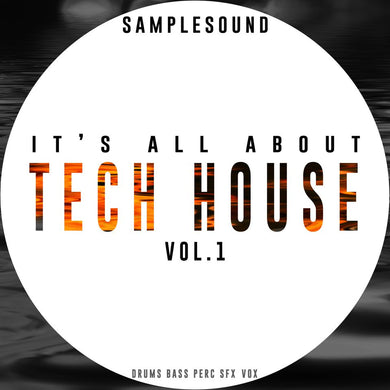 It's all about Tech House music Vol.1