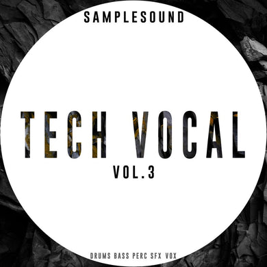 Tech Vocal Volume 3
