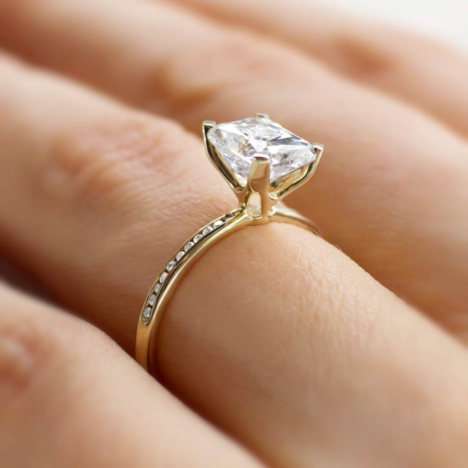 Choosing Your Moissanite Ring - Comparing Cuts