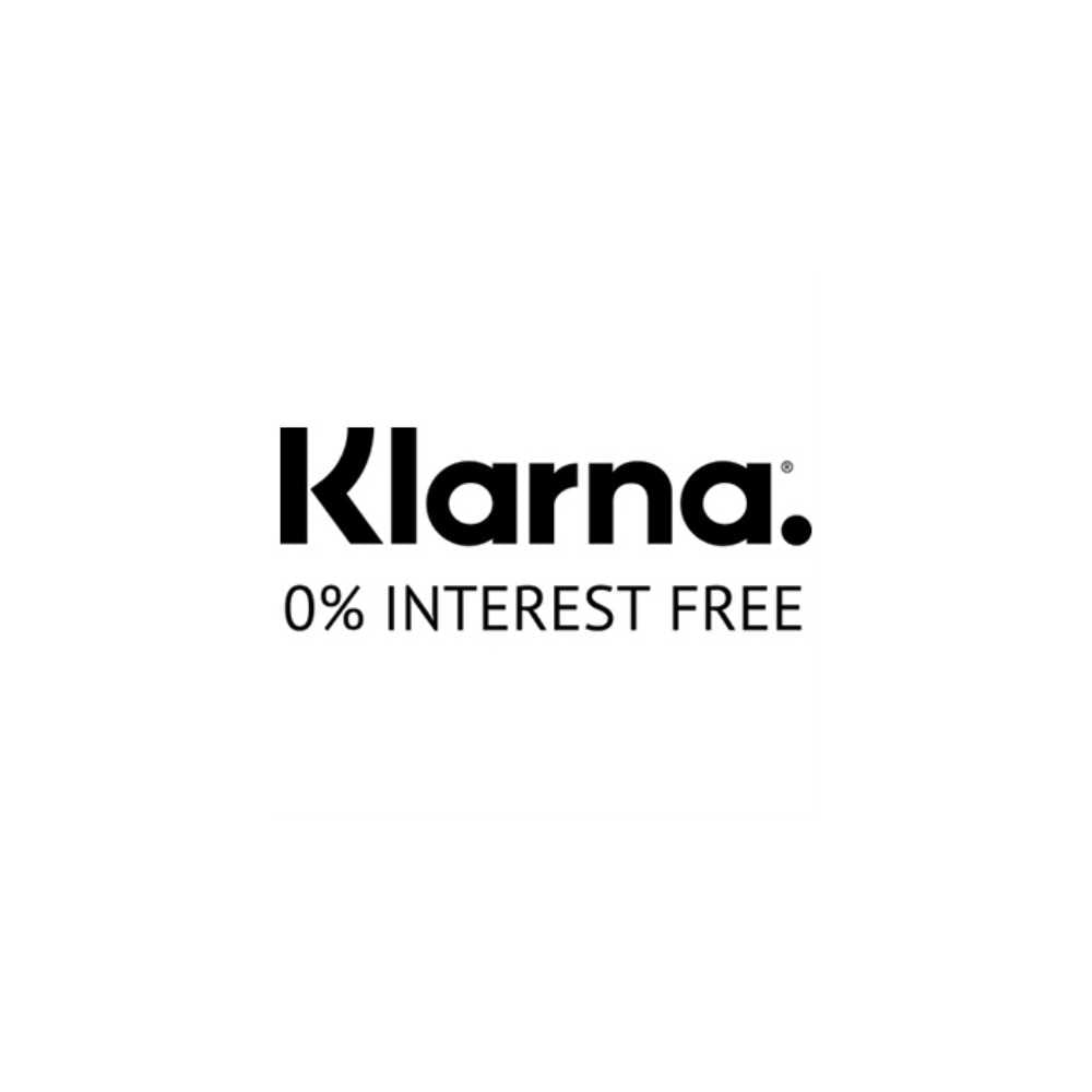 klarna image 0% interest free