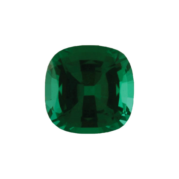Chatham Lab Grown Emerald Loose Gems Cushion Cut