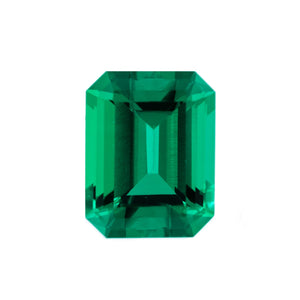 Charles & Colvard Loose Gems EMERALD CUT - Chatham Lab Grown Emerald Loose Gem