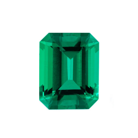 Chatham Lab Grown Emerald Loose Gems Emerald Cut