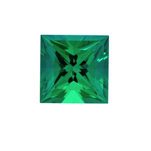 Charles & Colvard Loose Gems SQUARE CUT - Chatham Lab Grown Emerald Loose Gem