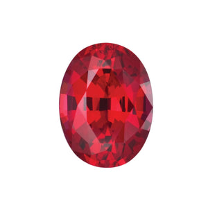 OVAL CUT - Chatham Lab Grown Ruby Loose Gem