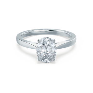 Platinum - ISABELLA (Mount Only) Engagement Ring Lily Arkwright
