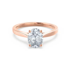18k Rose Gold - ISABELLA (Mount Only) Engagement Ring Lily Arkwright