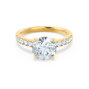 18k Yellow Gold - GISELLE (Mount Only) Engagement Ring Lily Arkwright