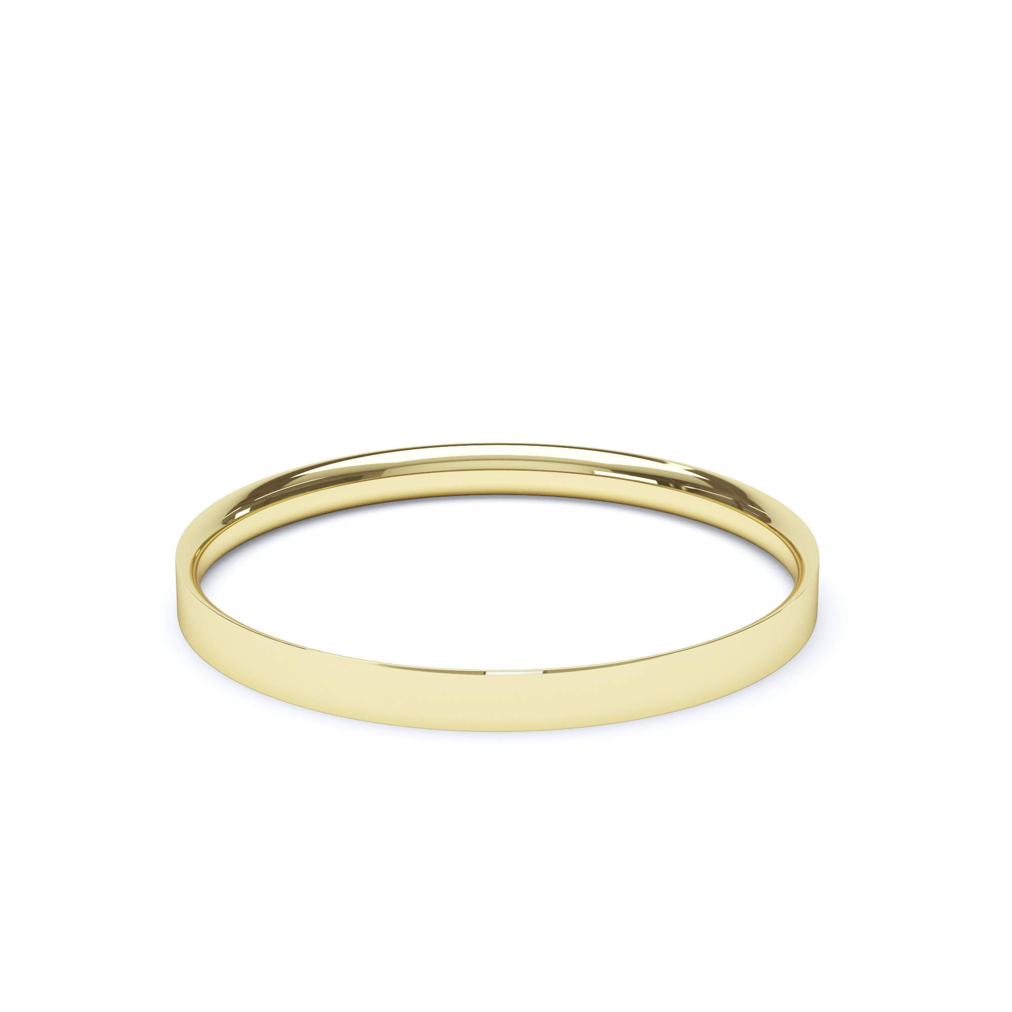 Lily Arkwright Wedding Bands 2.0mm / 18K Yellow Gold Women's of Plain Wedding Band Flat Court Profile 18k Yellow Gold
