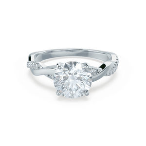 Platinum - EDEN (Mount Only) Engagement Ring Lily Arkwright
