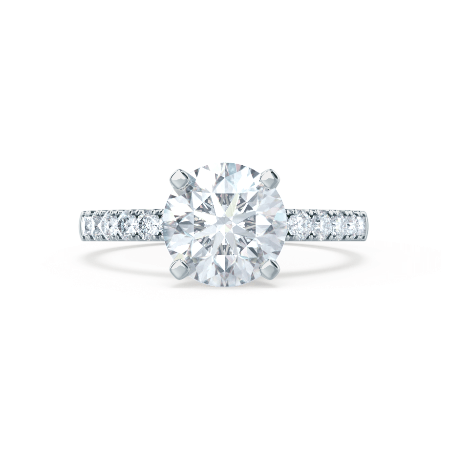 GISELLE - Certified Lab Diamond Shoulder Set
