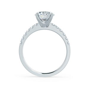 18k White Gold - GISELLE (Mount Only)
