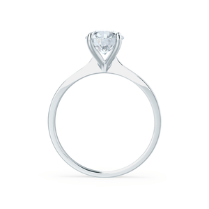 LOTTIE - Premium Certified Lab Diamond 4 Claw Solitaire 18k White Gold