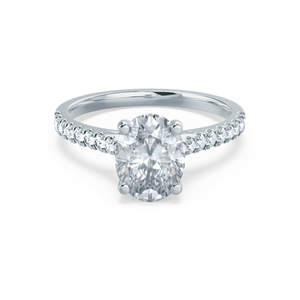 Platinum - VIOLA (Mount Only) Engagement Ring Lily Arkwright