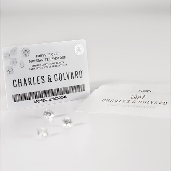 RADIANT CUT - Charles & Colvard Forever One Loose Moissanite DEF Colourless