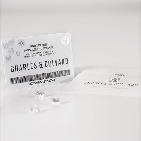 Charles & Colvard Forever One Brilliant Round Cut Loose Moissanite D-F Colourless