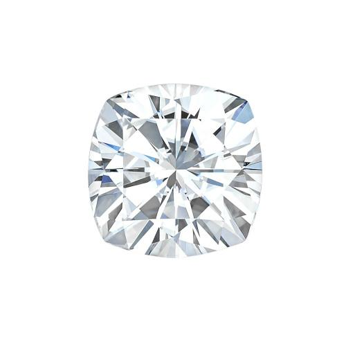 charles and colvard forever one cushion cut loose stone