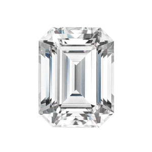 EMERALD CUT - Charles & Colvard Forever One Loose Moissanite DEF Colourless Loose Gems Charles & Colvard
