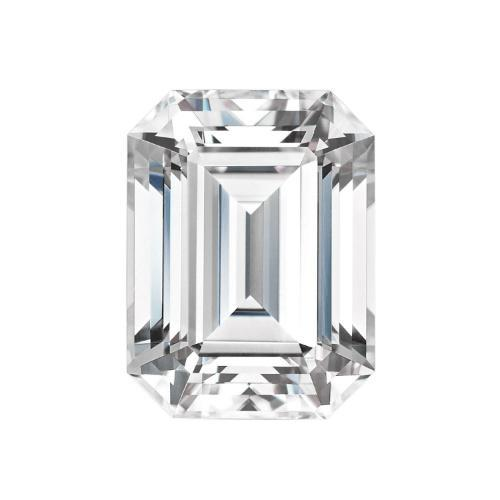 EMERALD CUT - Charles & Colvard Forever One Loose Moissanite GHI Near Colourless Loose Gems Charles & Colvard