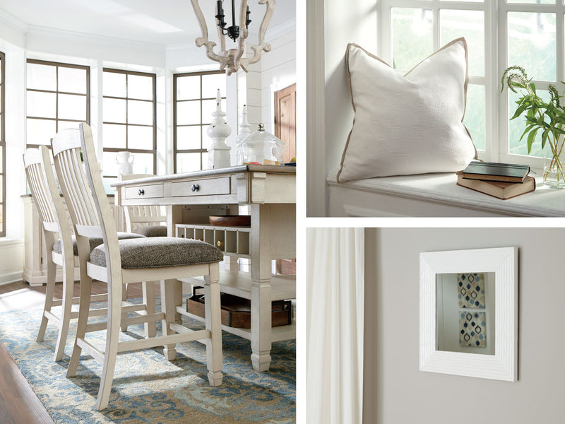 Bright Whites: Decorating with white is ALL the way right.