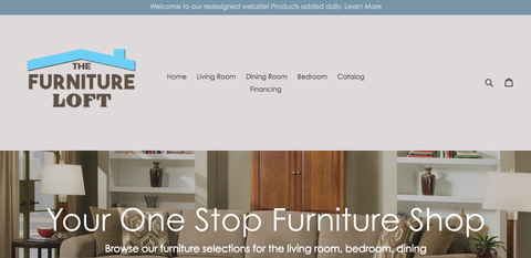 The Furniture Loft new website