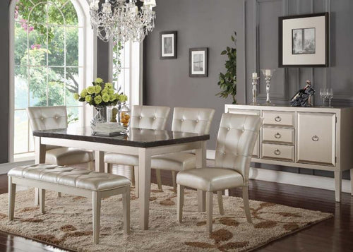 Voeville Bluestone Casual Dining Set