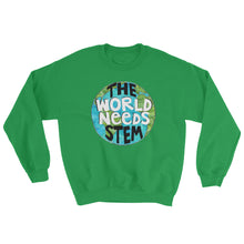 The World Needs STEM Crewneck Sweatshirt