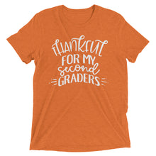 Thankful For My Second Grader Tri Blend Shirt