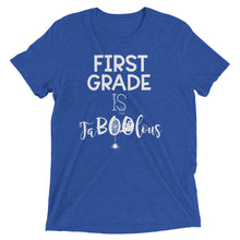 First Grade Is FaBOOlous Tri Blend Shirt