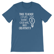 This Teacher Loves STEM, Coding, and Creativity Shirt